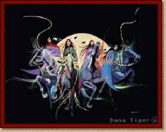 Four Horses-Dana Tiger